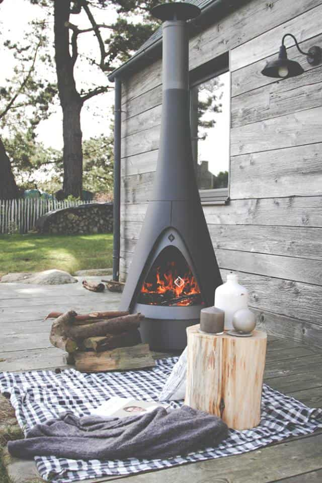 35 Metal Fire Pit Designs and Outdoor Setting Ideas on Quillen Steel Outdoor Fireplace id=22382