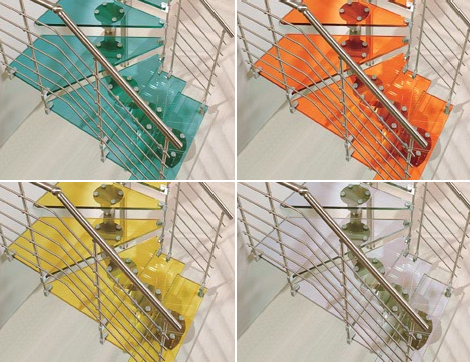 Cast staircase Swing colors