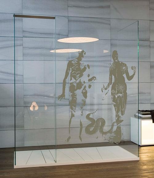 Creative Shower Screen By Antonio Lupi Designer Homes