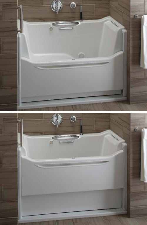 Rising Wall Bath Elevance By Kohler Designer Homes