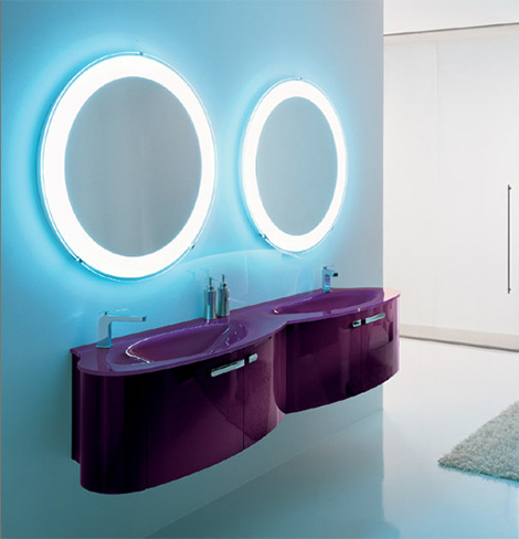Novello vanity Trend in Purple