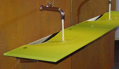 Contemporary Sink From Omvivo Onda Washplane By Joseph