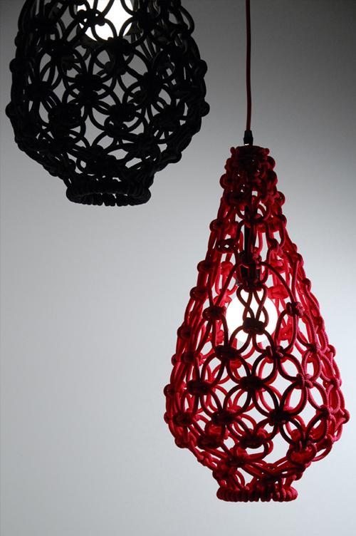 Macrame Light Shade By Satelight Designer Homes