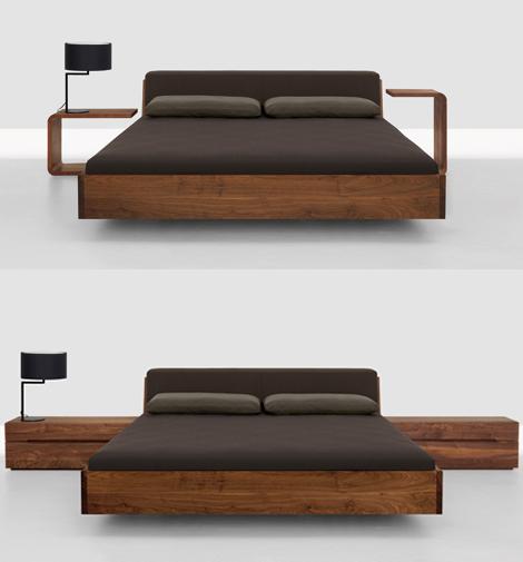 Modern Wood Beds