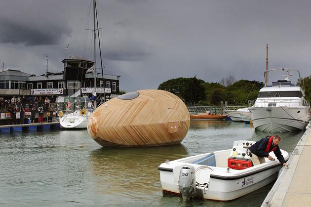 Exbury Egg in Harbor