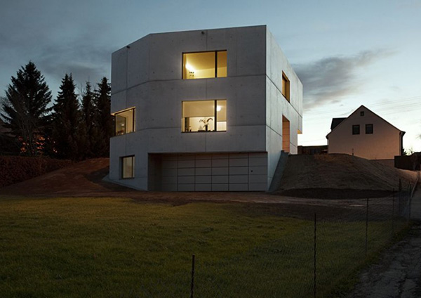 Concrete Home Designs Minimalist In Germany Modern