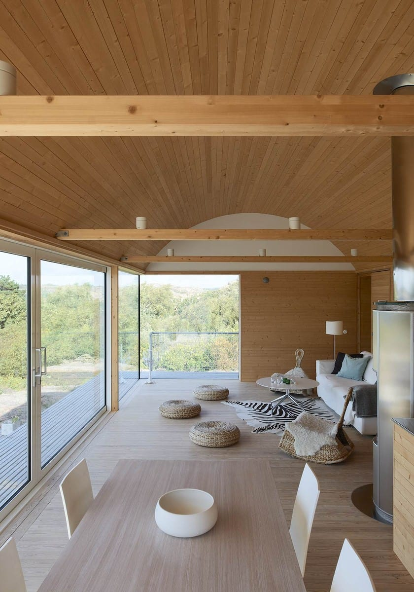 Corrugated Metal Beach Houses With Wood Interiors Modern