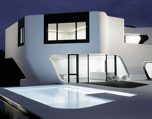 Modern Residential Architecture In Germany Dupli Casa