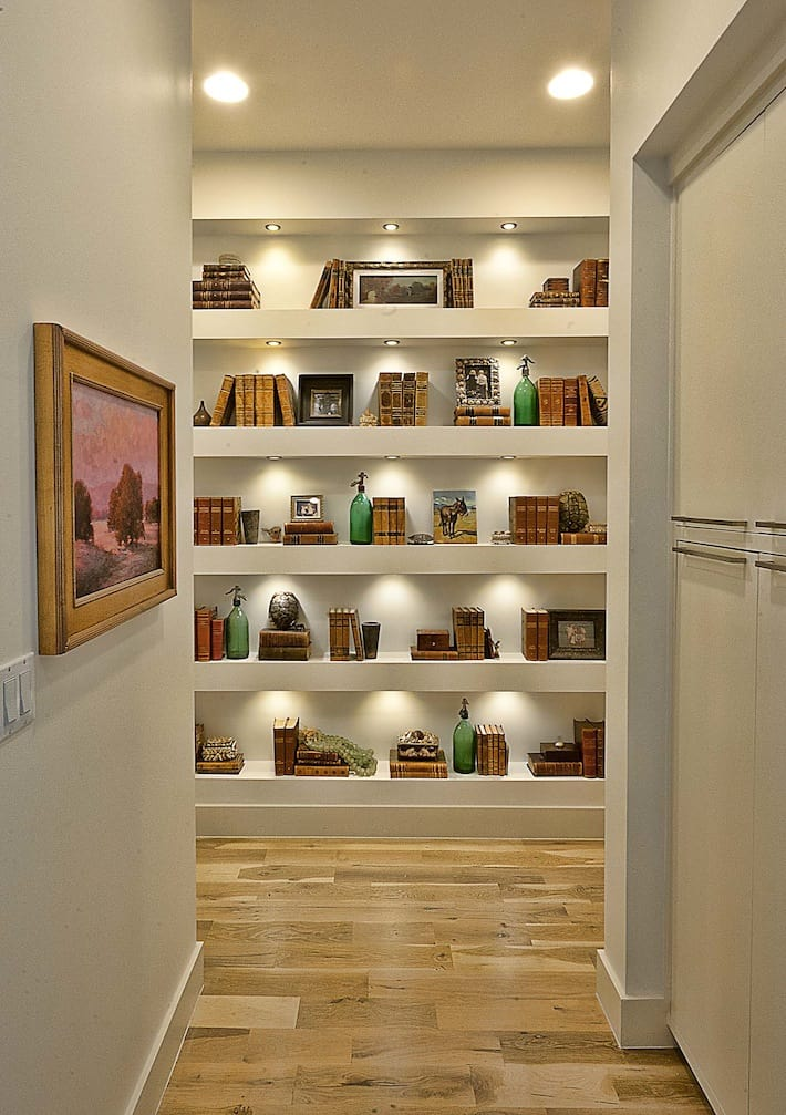 Low And Bookcase Wide
