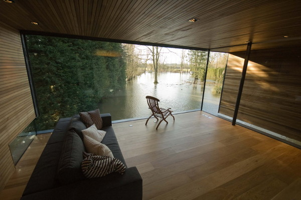 Home on Stilts in England
