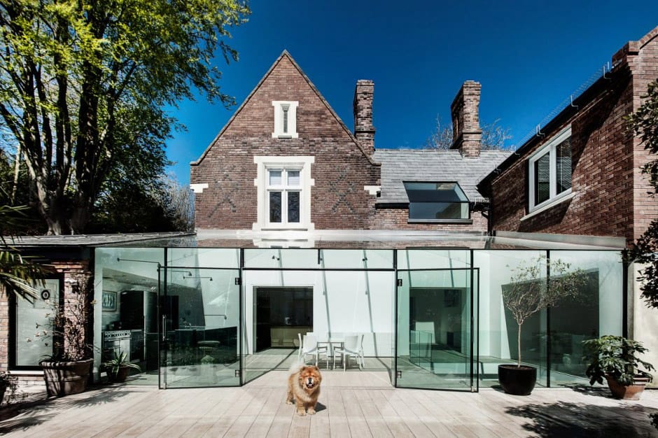Old house gets an all-glass extension | Modern House Designs on Modern Glass Houses  id=52946