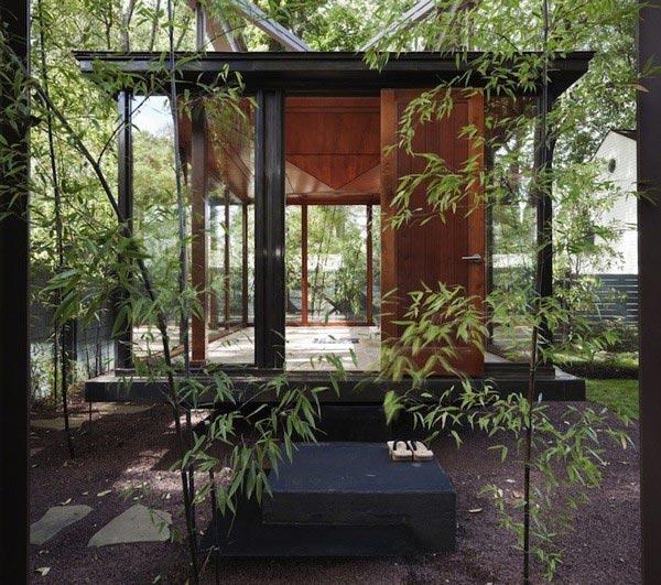 Meditation House Plans Floating Glass Home Modern