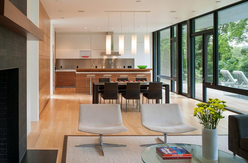 Modern Box House with Interior Glass Bridges | Modern ... on Modern Glass House Design  id=73747