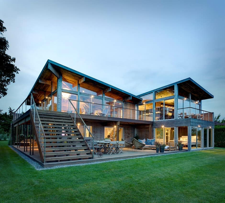 Earthy Timber Clad Interiors vs. Urban Glass Exteriors ... on Interior:ybeqvfpgwcq= Modern House  id=26211