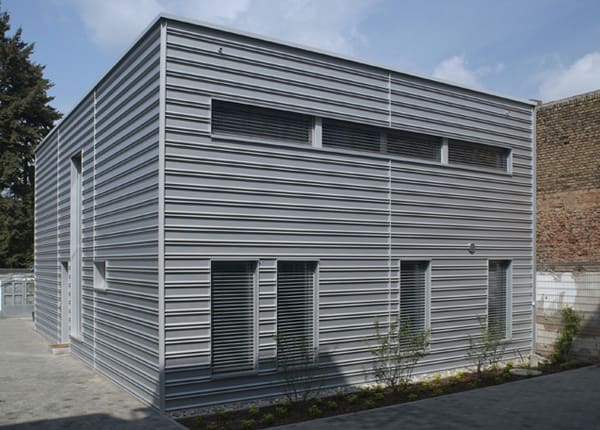 Small City House In Germany Cube Modern House Designs