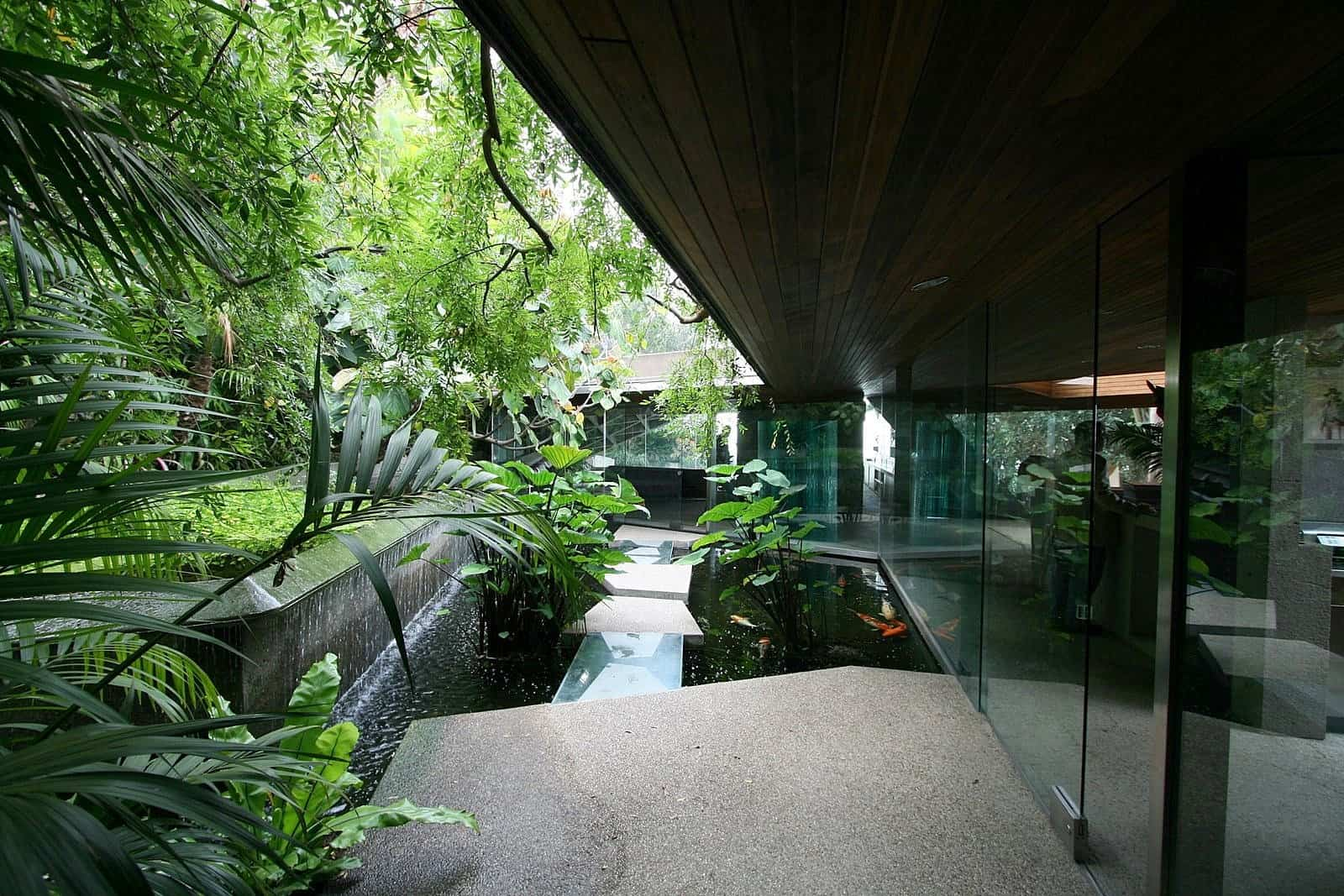 35 Sublime Koi Pond Designs and Water Garden Ideas for ... on Koi Ponds Ideas  id=16953