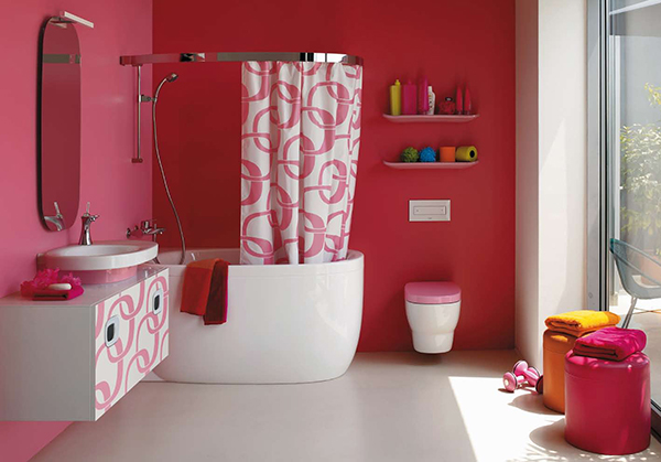 pink bathrooms and pink bathroom ideas laufen 4 Pictures Bathrooms