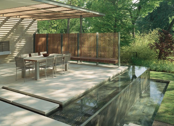 Outdoor Deck And Water Feature Japanese Room - Home ... on Water Feature Ideas For Patio id=40451