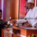 News: Buhari Suspends Onnoghen, Swears In Mohammed As Acting Chief Justice Of Nigeria