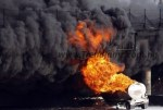 News: Scores Dead, Vehicles Burnt As Petrol Tanker Explodes In Ojo, Lagos
