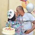 Gist: Veteran Actor, Nobert Young Romances Wife, Gloria Anozie On Her Birthday (Photos)