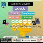 """SPONSORED ADS: Sell Your Bitcoin & Gift Cards For Juicy Rates And Sweet Cash At """"Fast Ideal Services"""""""