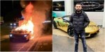 Gist: Man's Lamborghini burns 1 hour after picking it up from garage