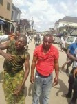 News: Soldiers Beaten To Pulp In Ajegunle, Lagos Over Death Of 'Black Jesus' (Graphic Photos)