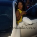 Gist: MC Oluomo Buys New Car For His Married Daughter (Photos)