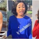 Gist: Woman Who Shamed Regina Daniels For Marrying Ned Nwoko Is Also Married To 72-year Old White Man (Video)