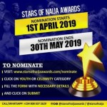 Gist: Nomination Opens For The 2019 Edition Of The Stars Of Naija Awards