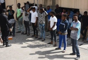 News: EFCC Arrests 10 Suspected Internet Fraudsters In Abuja (Photo)