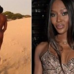 Gist: Naomi Campbell, Goes Completely Naked During New Photoshoot In Kenya (18+Photo)