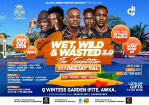 Event: Wet Wild N Wasted The Summer Party