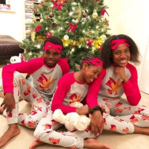 Shina Peller's Children Celebrate Christmas With Lovely Pictures
