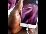 Lagos big girl finger herself on a WhatsApp Video Call (Watch Video)