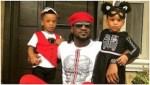 Paul Okoye's twins clock 3, Lola Okoye also celebrates them with sweet words (photos)