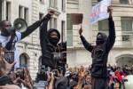 Hundreds Of Nigerians Join Wizkid's #EndSARS Protest In London (Video)