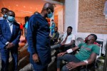 Sanwo-Olu Visits Victims Of Lekki-Ikoyi Toll Gate Massacre, Says He'll Address The State This Morning