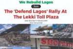 #DefendLagos Withdraws From Lekki Tollgate Protest