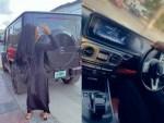 Reality TV star, Mercy Eke adds a Mercedes G-Wagon to her garage