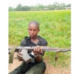 Herdsman apprehended with an AK 47 riffle inside Ogun forest