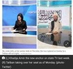 Taliban Bans Women Anchors From Working In State Television