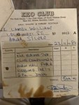 Did you know it cost N500 to rent hall for weddings at Eko Club in 1982; Checkout Receipt