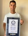 Cristiano Ronaldo Bags Guinness Book Of Records Award