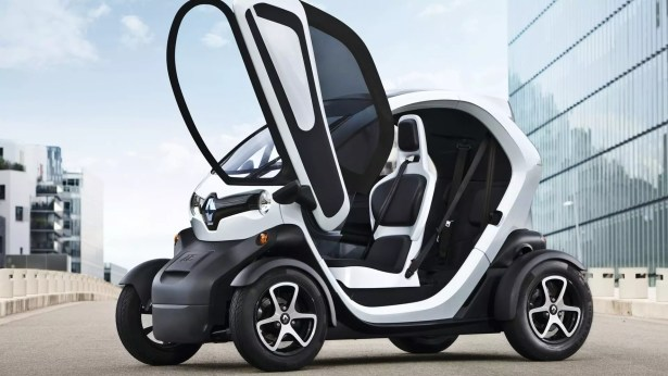 The Renault Twizy is another all Electric car from  Renault