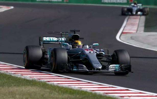 AMG Petronas Motorsport, Hungarian GP 2017. Lewis Hamilton