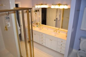 BEFORE - Best Bathroom under $25,000