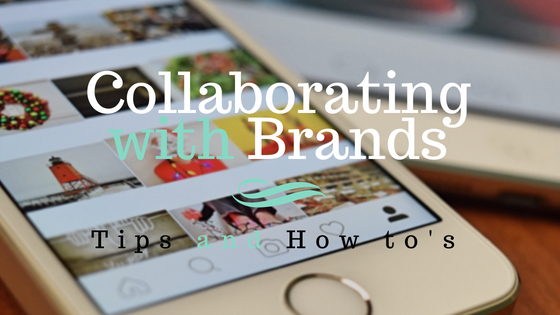 collaborating with brands