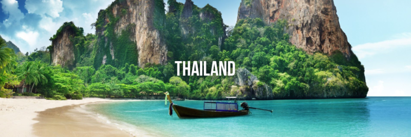 Thailand- best cheap travel destinations 2018